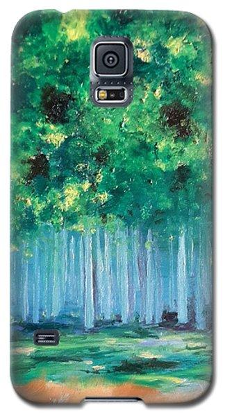 Enchanted Poplars Galaxy S5 Case
