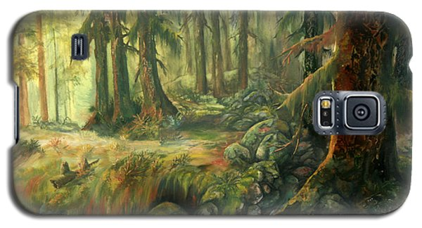 Enchanted Rain Forest Galaxy S5 Case