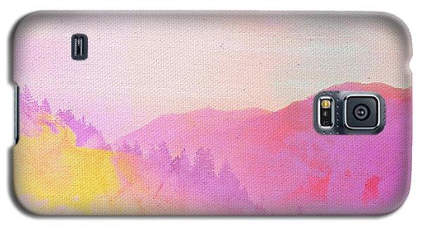 Galaxy S5 Case featuring the digital art Enchanted Scenery #2 by Klara Acel