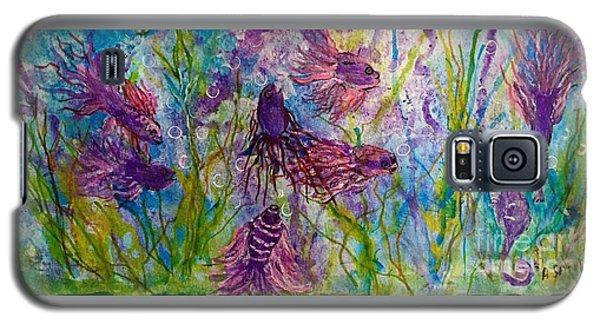 Enchanted Sealife Party Galaxy S5 Case