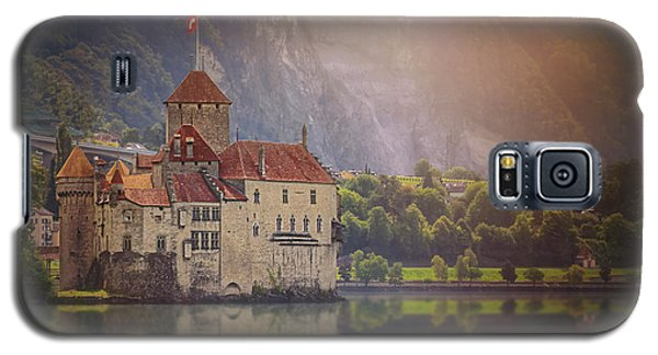 Enchanting Chateau De Chillon Montreux Switzerland  Galaxy S5 Case