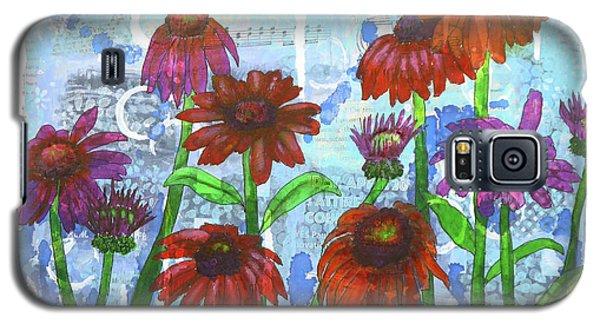 Enchanting Echinacea Galaxy S5 Case