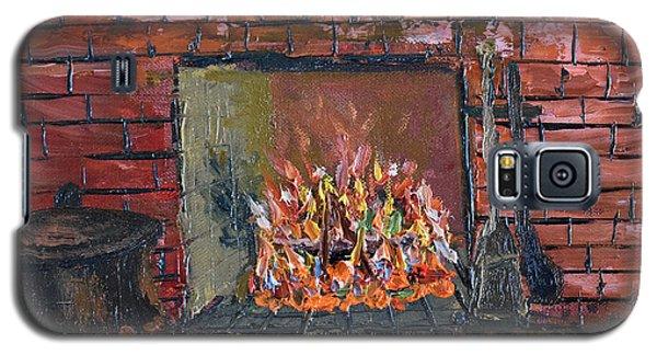 Enchanting Fire Galaxy S5 Case