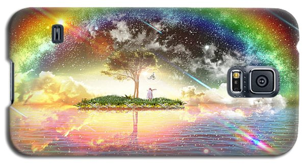 Encountering The Holy Spirit Galaxy S5 Case by Dolores Develde