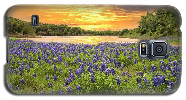 End Of A Bluebonnet Day Galaxy S5 Case