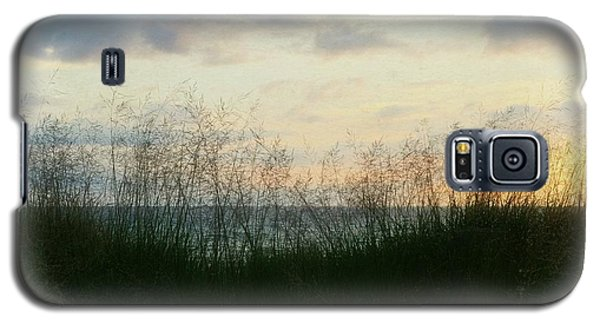 Galaxy S5 Case featuring the photograph End Of Day At Pentwater by Michelle Calkins
