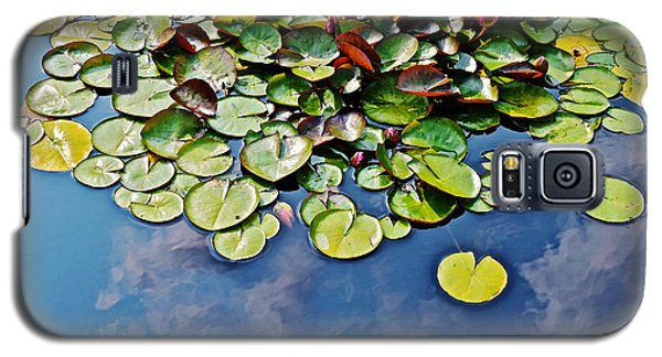 End Of July Water Lilies In The Clouds Galaxy S5 Case