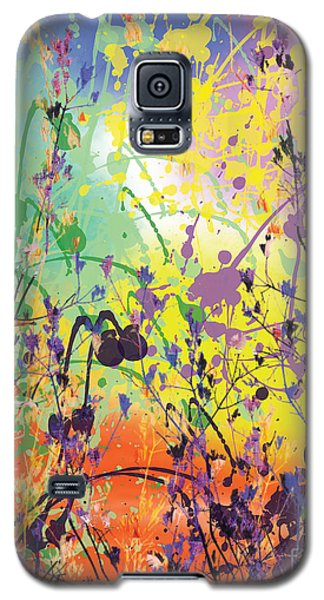 Galaxy S5 Case featuring the digital art End Of Summer 2015 by Trilby Cole
