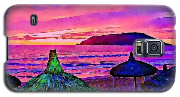 End Of The Beach Day In Mazatlan Galaxy S5 Case