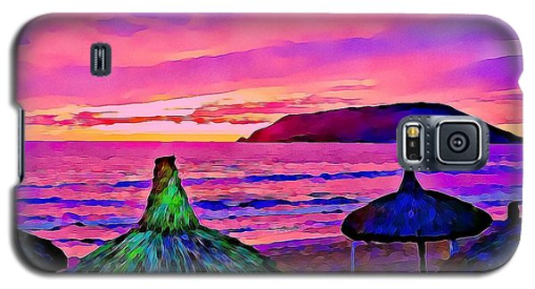 End Of The Beach Day In Mazatlan Galaxy S5 Case