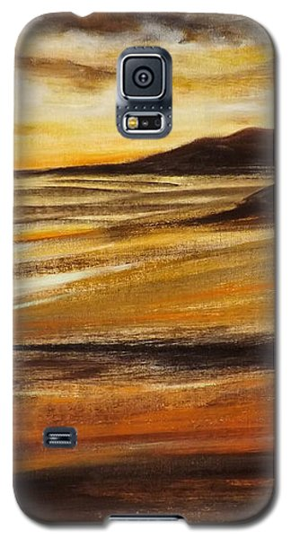 End Of The Day - Panoramic Sunset Galaxy S5 Case