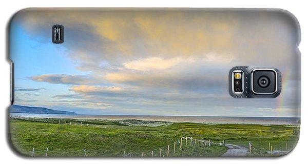 End Of The Road, Brora, Scotland Galaxy S5 Case