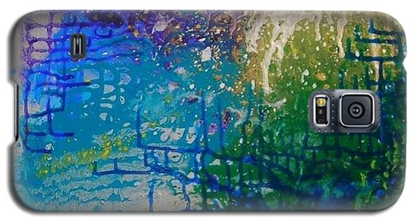 Galaxy S5 Case featuring the painting Endless Possibilite by Lori Jacobus-Crawford