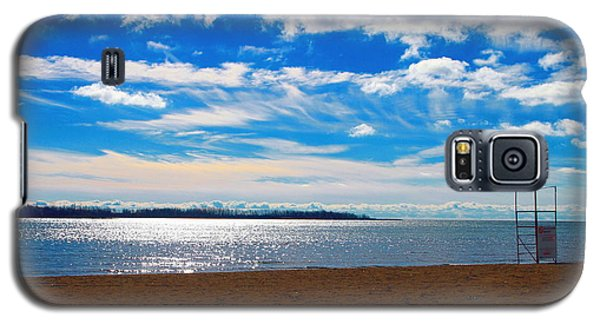 Galaxy S5 Case featuring the photograph Endless Sky by Valentino Visentini