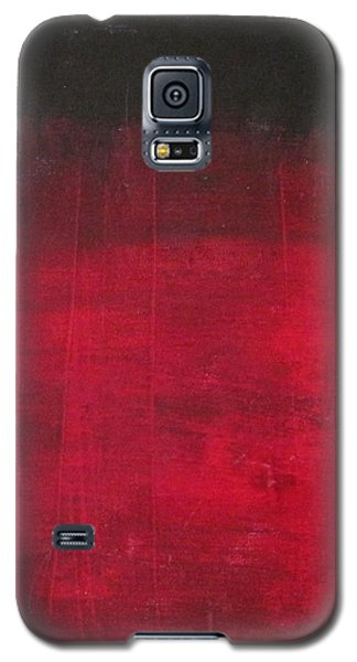 Galaxy S5 Case featuring the painting Energie Intense by Nicole Nadeau