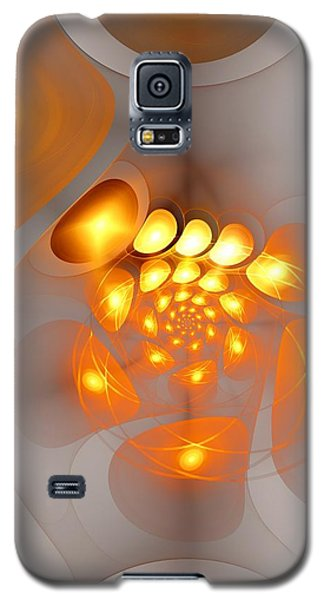 Galaxy S5 Case featuring the digital art Energy Source by Anastasiya Malakhova