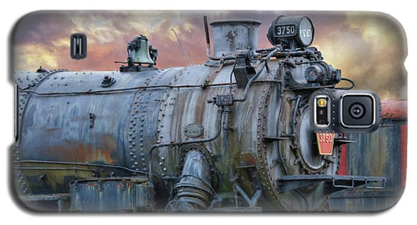 Galaxy S5 Case featuring the photograph Engine 3750 by Lori Deiter