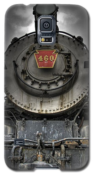 Train Galaxy S5 Case - Engine 460 Front And Center by Scott Wyatt