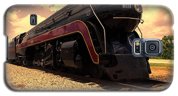 Engine #611 In Ole Town Petersburg Virginia Galaxy S5 Case by Melissa Messick