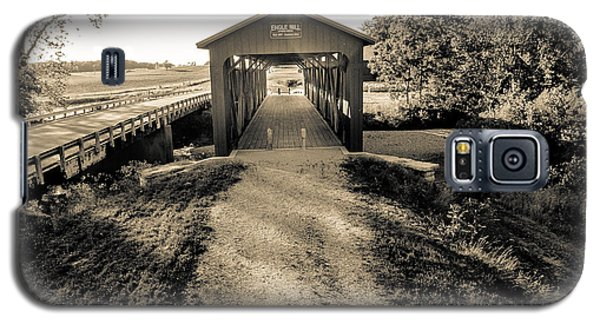 Engle Mill Covered Bridge Galaxy S5 Case