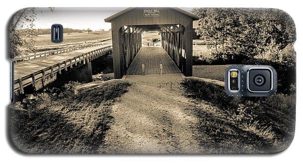 Engle Mill Covered Bridge Galaxy S5 Case