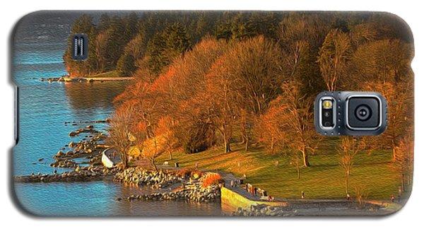 English Bay At Golden Hr. Galaxy S5 Case