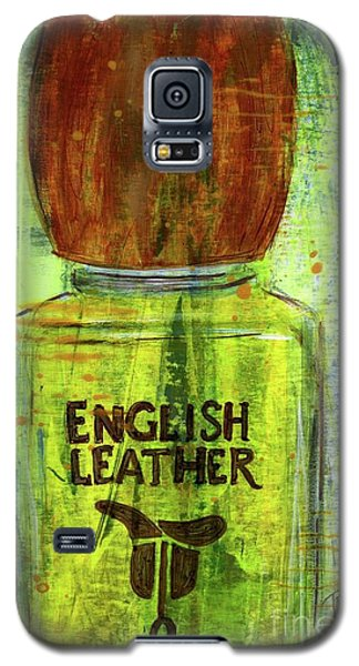 Galaxy S5 Case featuring the painting English Leather by P J Lewis