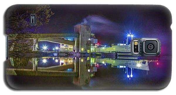 English River At Lafarge, Napanee Galaxy S5 Case