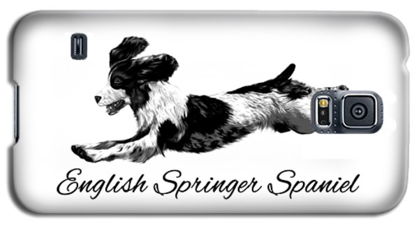 English Springer Spaniel Galaxy S5 Case by Ann Lauwers