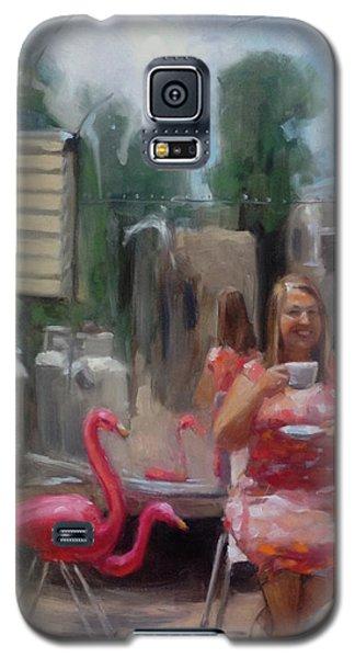 English Tea Time In Taos Galaxy S5 Case