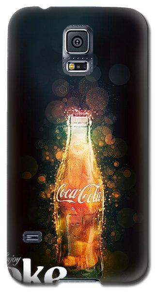 Enjoy Coca-cola With Bubbles Galaxy S5 Case