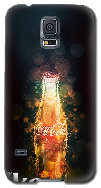Enjoy Coca-cola With Bubbles Galaxy S5 Case
