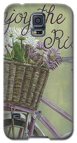 Bicycle Galaxy S5 Case - Enjoy The Ride by Debbie DeWitt