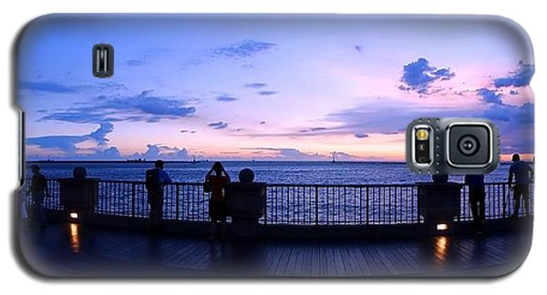 Galaxy S5 Case featuring the photograph Enjoying The Beautiful Evening Sky by Yali Shi