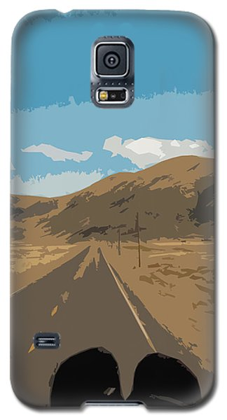 Enjoying The View Of The Peruvian Countryside Galaxy S5 Case