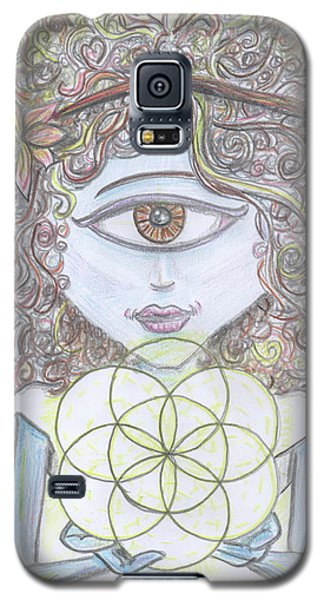 Enlightened Alien Galaxy S5 Case