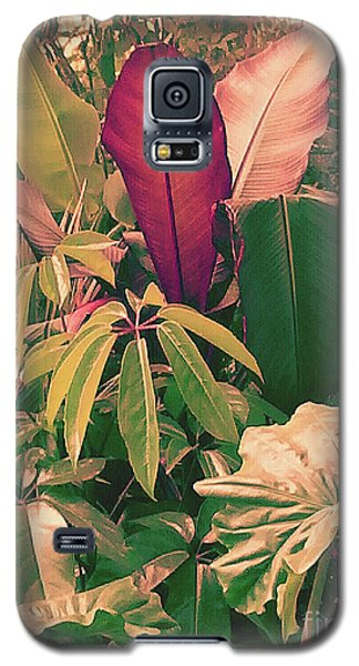 Galaxy S5 Case featuring the photograph Enlightened Jungle by Rebecca Harman