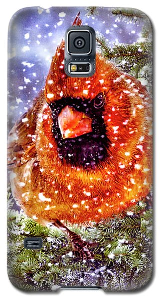Galaxy S5 Case featuring the photograph Enough Of This White Stuff by Diane Schuster
