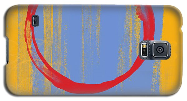 Galaxy S5 Case featuring the painting Enso by Julie Niemela
