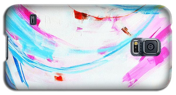 Entangled No. 8 - Left Side - Abstract Painting Galaxy S5 Case