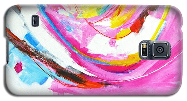 Entangled No. 8 - Right Side - Abstract Painting Galaxy S5 Case