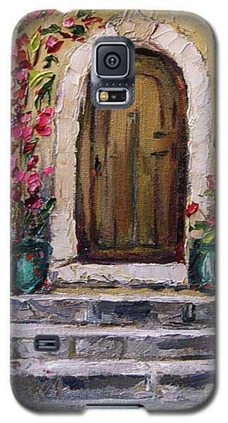Galaxy S5 Case featuring the painting Enter Here by Jennifer Beaudet