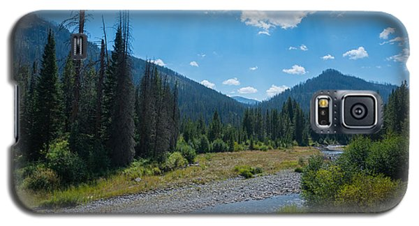 Entering Yellowstone National Park Galaxy S5 Case