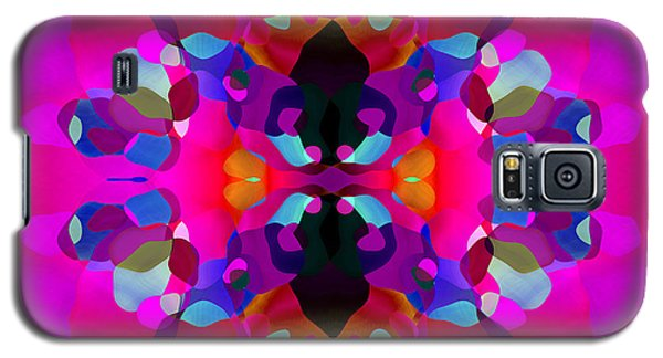 Galaxy S5 Case featuring the digital art Enthusiasm by Lynda Lehmann
