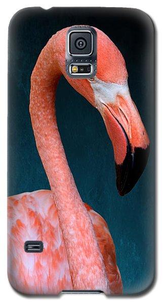 Entirely Unimpressed Flamingo Galaxy S5 Case