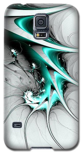 Galaxy S5 Case featuring the digital art Entity by Anastasiya Malakhova
