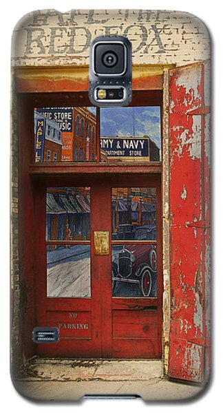 Galaxy S5 Case featuring the photograph Entry Into The Past by Jeff Burgess