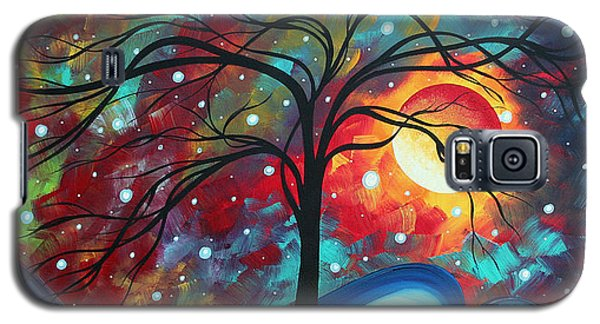 Moon Galaxy S5 Cases - Envision the Beauty by MADART Galaxy S5 Case by Megan Duncanson