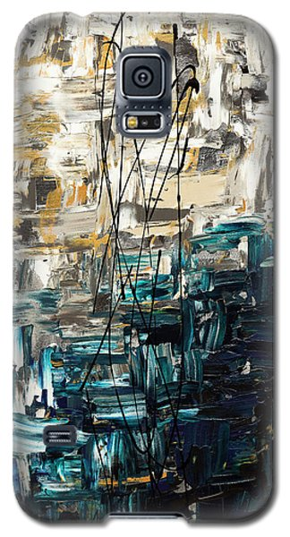 Galaxy S5 Case featuring the painting Envisioning by Carmen Guedez