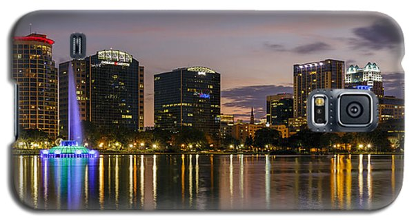 Eola Evening Galaxy S5 Case by Mike Lang